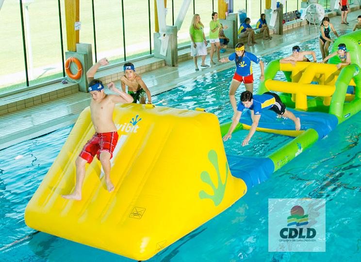 parcours sportif sur l'eau