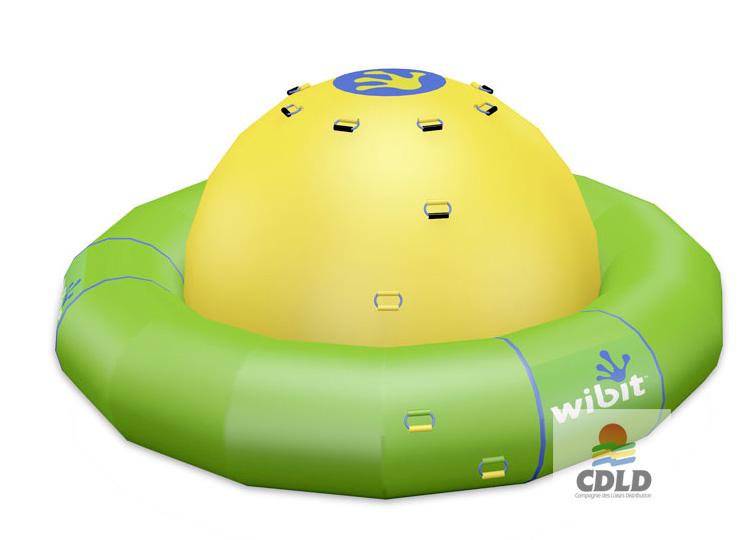 Toupie flottante gonflable