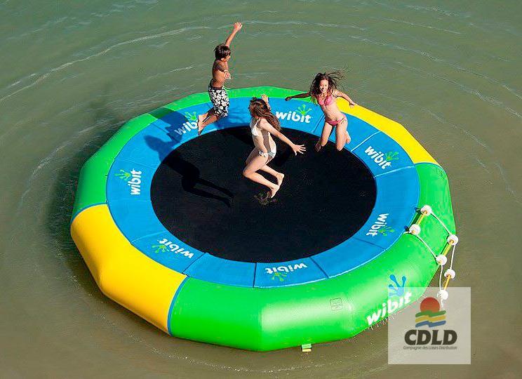 trampoline aquatique - Trampoline aquatique ronds XL et XXL