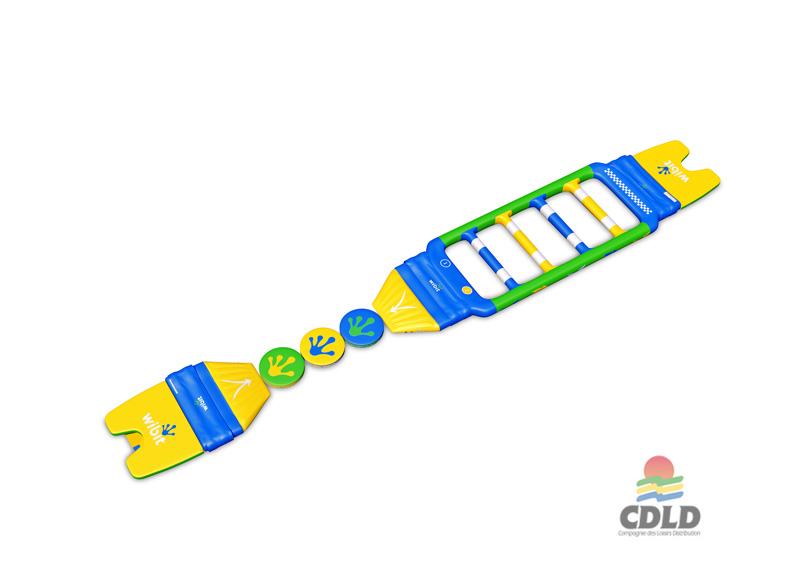 Schéma 3 D - Fast track 3 Wibit