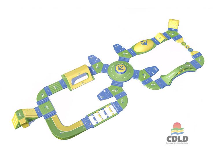 Aqualoop - Module gonflable pour piscines et plan d'eau