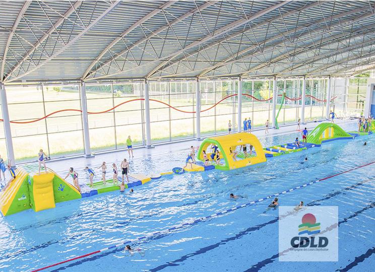 parcours pour grand bassin piscine - centre aquatique - LE parcours pour les bassins de 50 mètres.