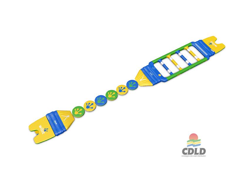 Schéma 3 D - Fast track 6 Wibit