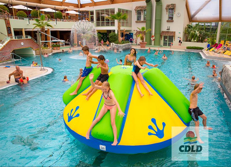Rodéo Splash en piscine et centre aquatique