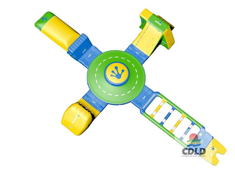 aire de jeu flottante nautique - kit de lancement