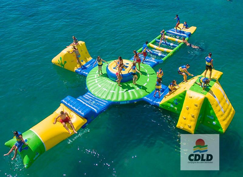 aire de jeu aquatique flottante Start Up