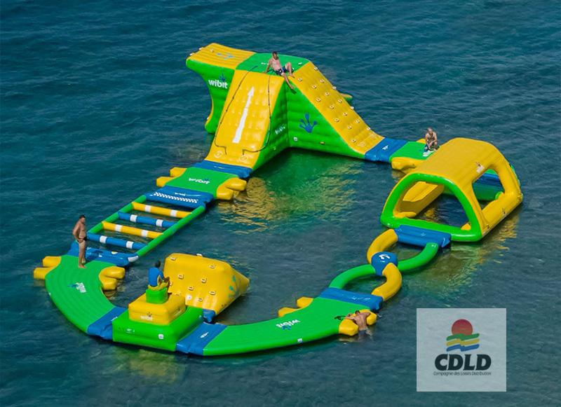 - Parc aquatique modulaire gonflable Wibit Boucle