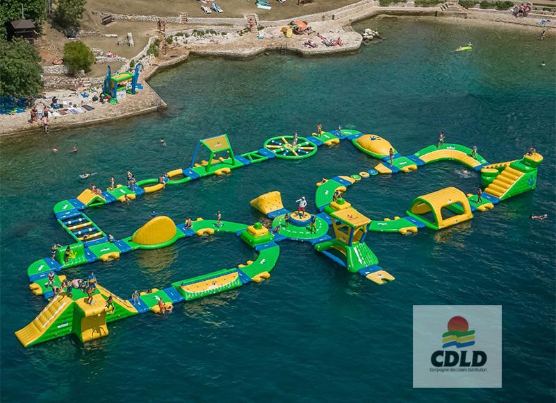 aquapark M wibit bord de mer