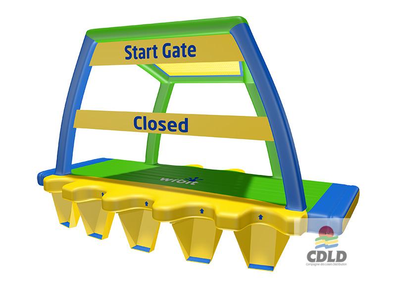 La Porte du Bonheur (marches intégrées)